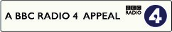 BBC Radio 4 charity appeal logo