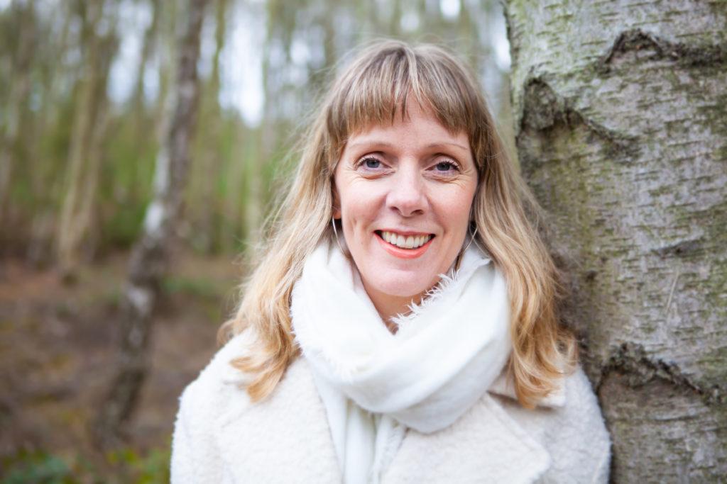 Jenny, taking a walk through some woodland