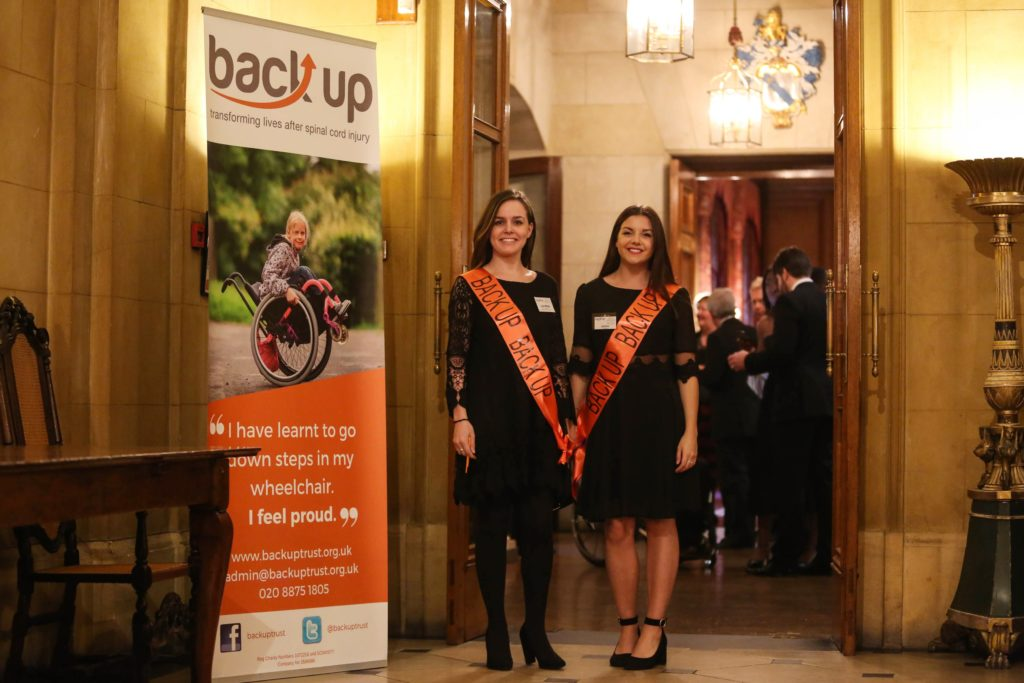 Back Up volunteers at a City Dinner event