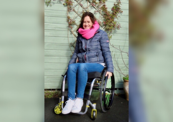 Emma, a wheelchair user. This spinal cord injury awareness day, learn how our app helped her