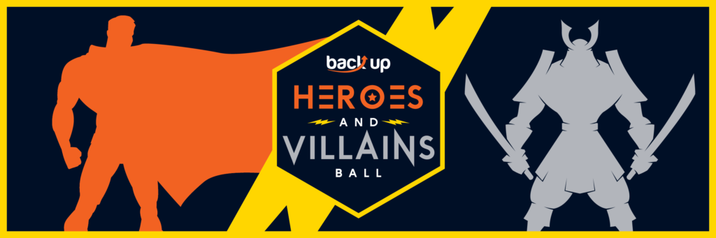 Image of the Back Up 2017 ball logo