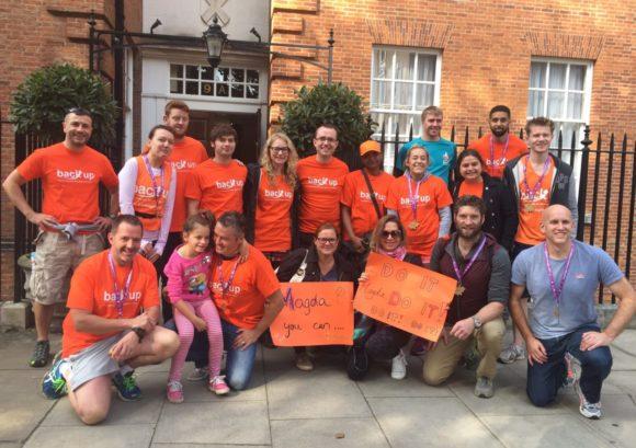 Team of Back Up volunteers