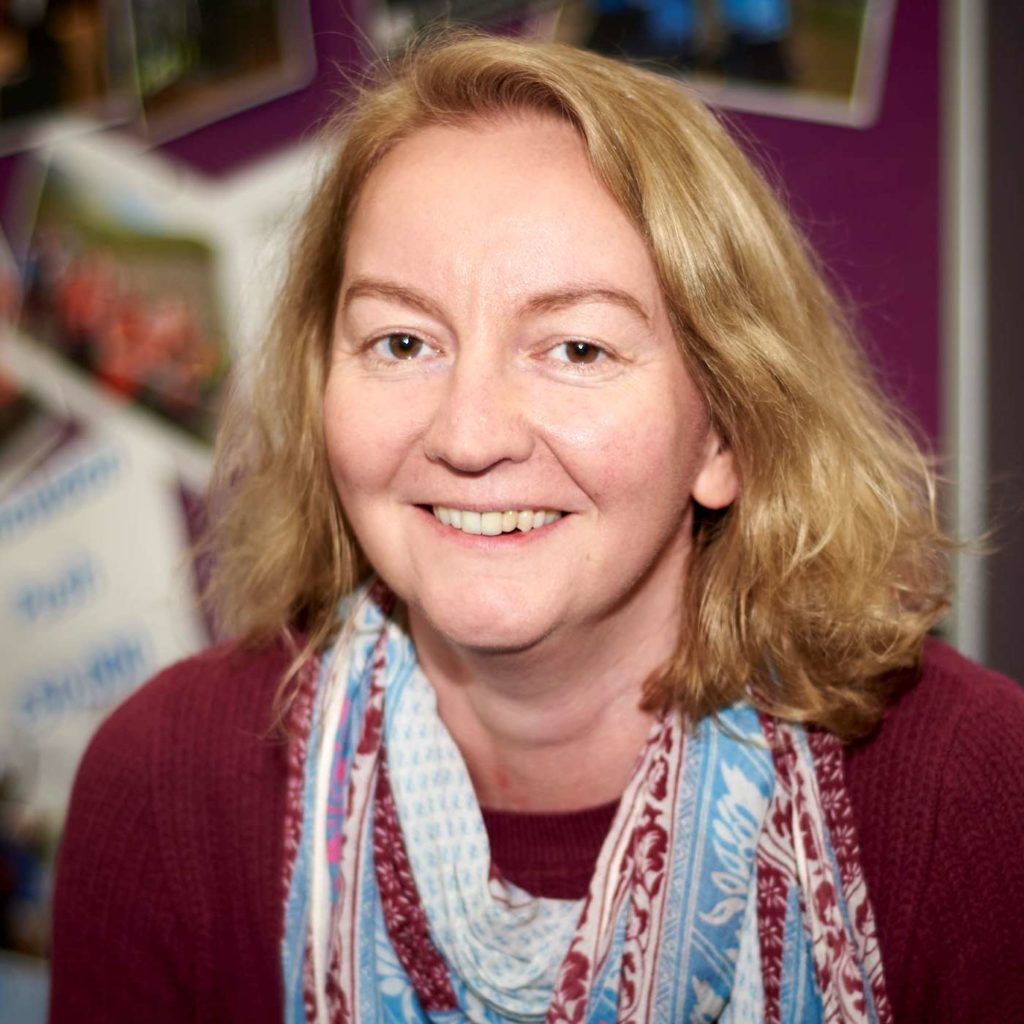Janet, Fundraising Manager