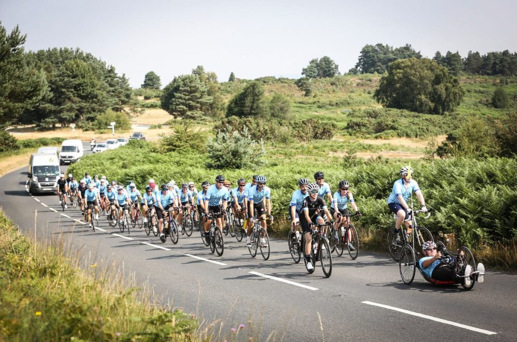 Cyclists take on London to Paris ride 2018