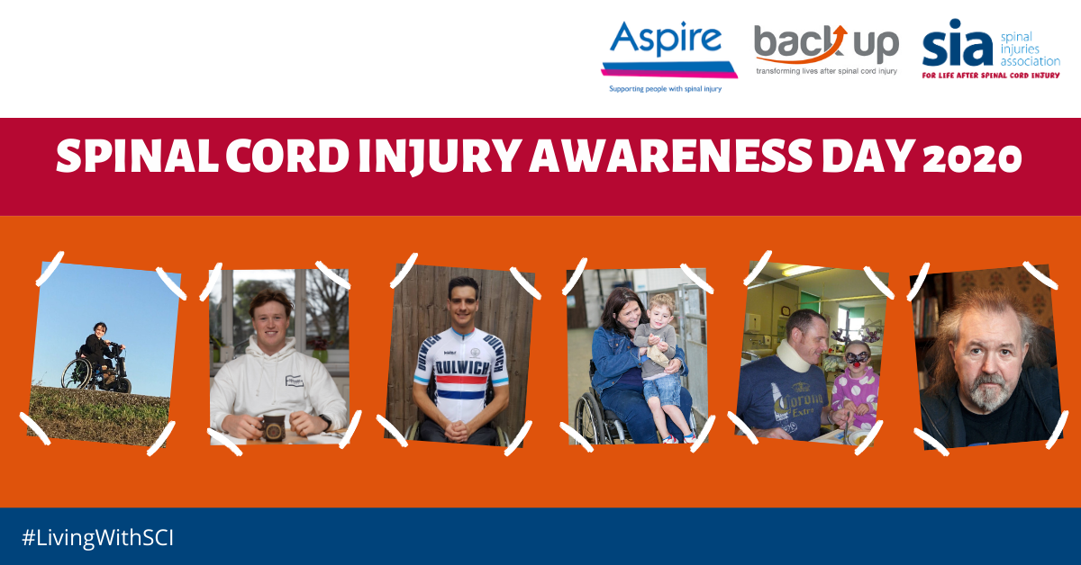 Join us in marking Spinal Cord Injury Awareness Day