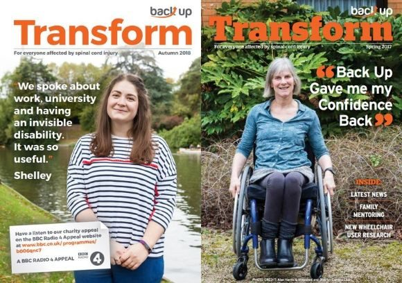 Transform magazine cover