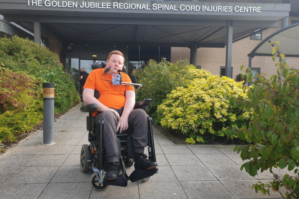 Will, one of our power chair skill trainers