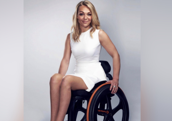 Our patron and founder of Heels for Wheels, Sophie Morgan