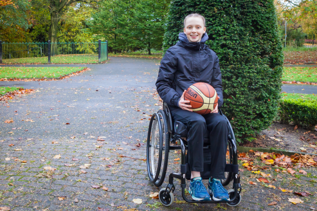 A young wheelchair user - the Back Up strategy is here to transform lives affected by spinal cord injury