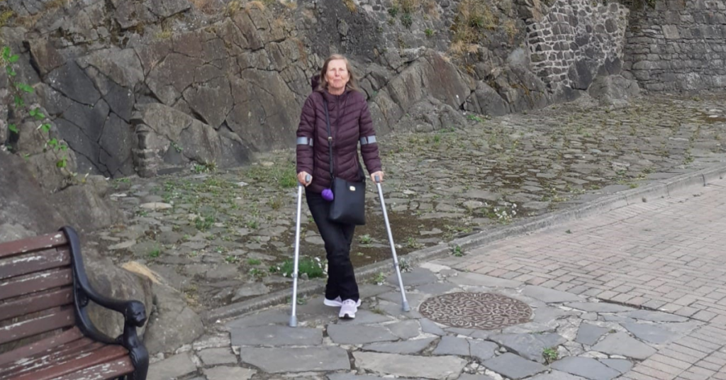 alison, who found a community after spinal cord injury thanks to the back up lounge