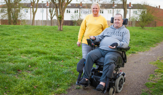 <h1>Living with spinal cord injury</h1>