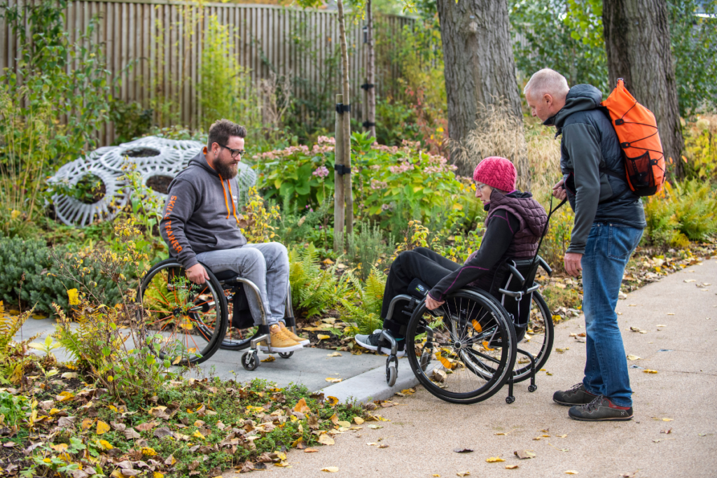 Learning the right wheelchair skills can help you live confidently and independently with a spinal cord injury. Our wheelchair skills app can help you practice at home.