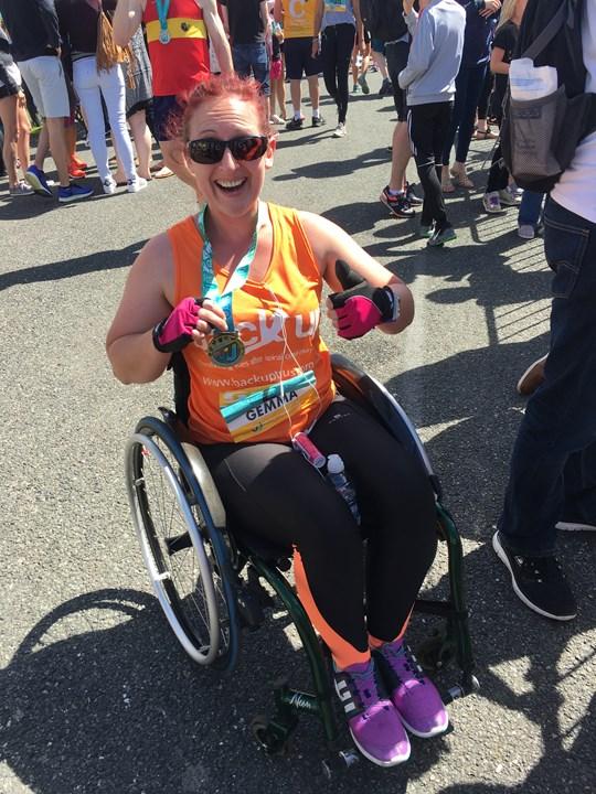 Gemma completes her 10k challenge