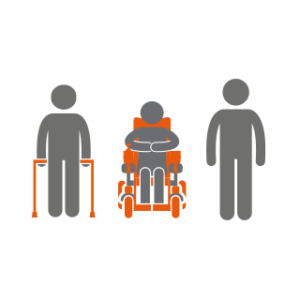 1,658 people affected by spinal cord injury were supported by Back Up